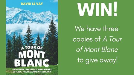 Win a copy of A Tour of Mont Blanc