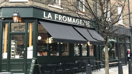 La Fromagerie, Marylebone, London picture Lara Dunn