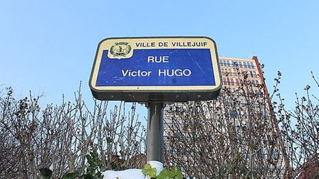 One of the many Rue Victor Hugo in France. Pic: Chabe01, CC BY SA 4.0