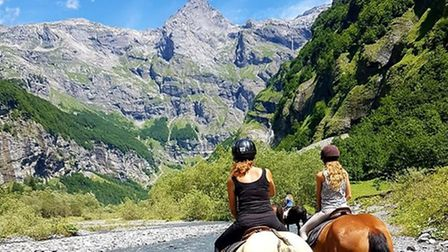 Conquer the mountains on horseback on Far and Ride's Alpine adventure. Pic: Far and Ride