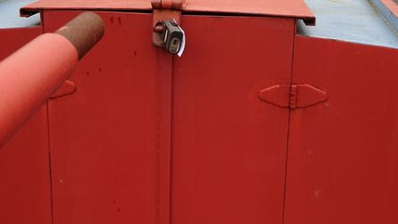 Padlocked cabin for peace of mind