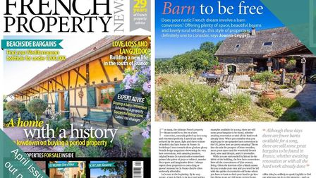 The April 2019 issue of French Property News is out now