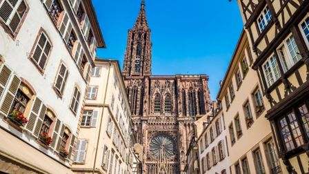 The Cathedral in Strasbourg, Bas-Rhin image Arkanto iStock Getty