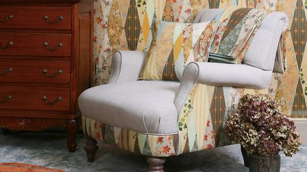 Designs from the Wallpaper Museum (c) The Chateau by Angel Strawbridge