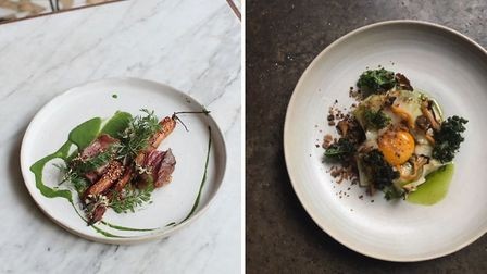 Sophisticated small plates are the signature of Jones cafe restaurant in Paris