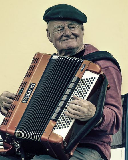 The accordion thrived in the dance halls of the late 1800s. Pic: P Exels/Pixabay