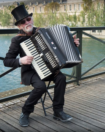 The accordion is a potent symbol of French popular culture. Pic: Manolo Franco