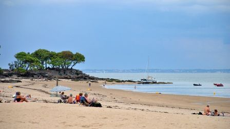A view painted by Auguste Renoir when he stayed on Ile de Noirmoutier image Michael Cranmer
