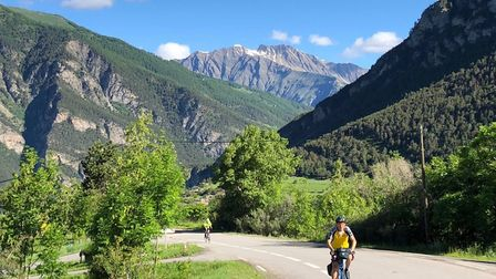 Cycling from Jausiers (c) Cicerone