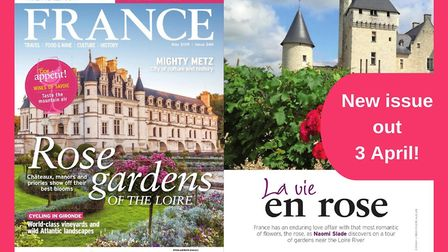 Get your copy of the May issue of FRANCE Magazine today