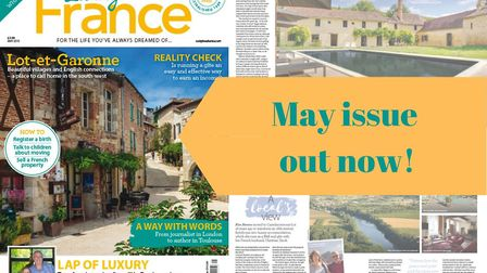 The May 2019 issue of Living France magazine is on sale now