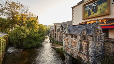 Pont-Aven, named after the river that once fed its mills. Pic: Alexandre Lamoureux