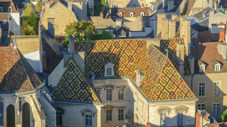 Colourful rooftops in the heart of Dijon (Getty Images/iStockphoto/RnDmS)