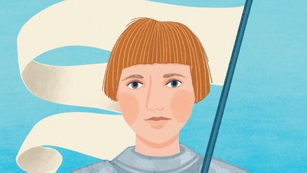 Joan of Arc illustrated by Amy Blackwell