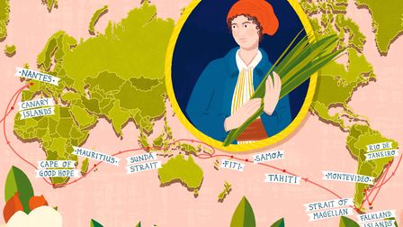 Jeanne Baret illustrated by Amy Blackwell
