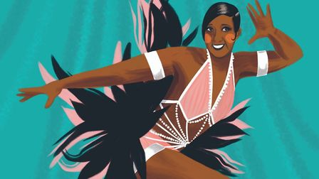 Josephine Baker illustrated by Amy Blackwell