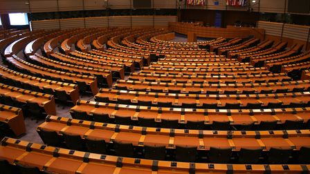 The assembly room of the European Parliament in Brussels (c) neklai / Getty Images