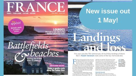 The new issue of FRANCE Magazine hits shelves on 1 May