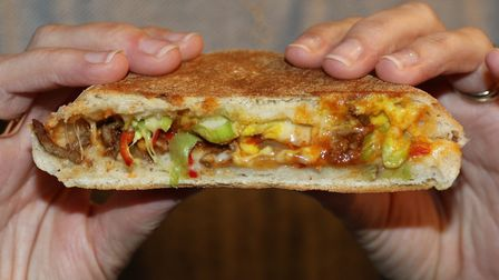 Pimped paninis by Victoria Holtam