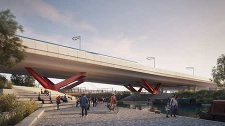HS2 Phase 1 will span the Digbeth Branch on its way into Birmingham (CRT)