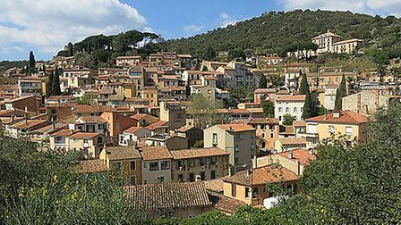 Bormes-les-Mimosas, renowned for its flowers and yearly festival. Pic: Tangopaso