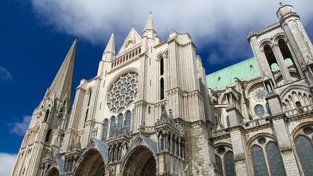 Chartres' imposing cathedral. Pic: Jorisvo/iStock/Getty