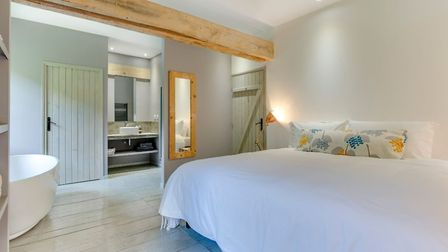 The gite bedrooms are luxurious and well equipped © Ellen Rockliffe Photography