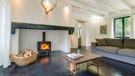 The living area in the gite comfortably accommodates a large number of guests © Ellen Rockliffe Phot