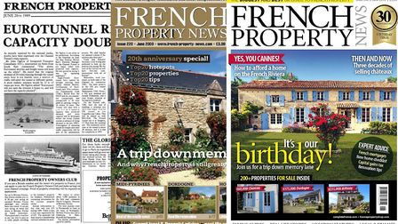 French Property News covers in 1989 2009 and 2019