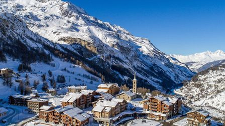 Tignes is a high-altitude and sporty ski resort