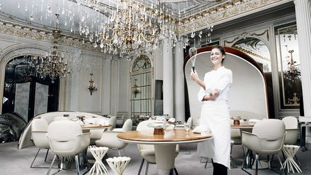 Jessica Prealpato, head pastry chef at Alain Ducasse au Plaza Athénée (c) Iannis GREA