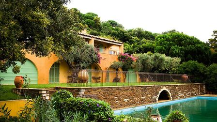 Hannah and her husband have lovingly restored their home on the Cote d'Azur