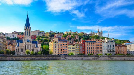 Lyon cityscape from the Saone river (c) MartinM303/Getty Images