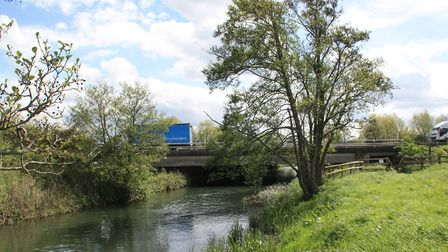 The M5: the canal's nemesis, but now the key to £4m of restoration cash (photo: Martin Ludgate)
