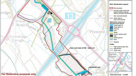 Plans for the 'missing mile' have been submitted (SDC)
