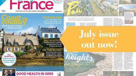 The July issue of Living France is out now