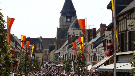 The packed main street of Aubigny during the festival. Pic: Cekispass/Flickr