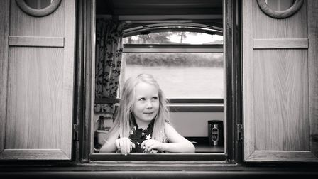 Annabel represents the next generation of canal lovers