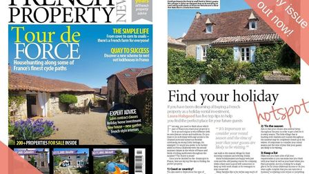 The July 2019 issue of French Property News is out now!