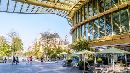 The Forum des Halles shopping centre in Paris is hosting a FIFA Fan Experience (c) Olivier Rateau/Ge