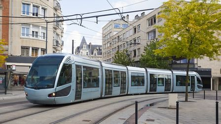 A tram in Valenciennes (c) bbsferrari/Getty Images