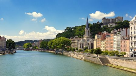 Church of Saint George and the Saone river in Lyon (c) gael_f/Getty Images