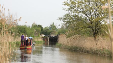 Ladywood Locks on the Droitwich Barge Canal (photo: Martin Ludgate)