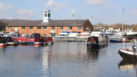 Canal town: Stourport's basins and clock warehouse (photo: Martin Ludgate)