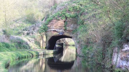 Dunsley Tunnel is barely longer than a boat's length (photo: Martin Ludgate)