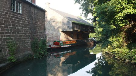 Trip-boat at Cromford, the ultimate destination (photo: Martin Ludgate)
