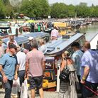 Plenty of interest as ever in the boats being exhibited (photo: Martin Ludgate)