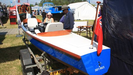 Not just electric: here's a pedal-powered boat (photo: Martin Ludgate)