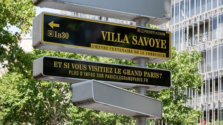 The new signposts will be places at popular Paris landmarks