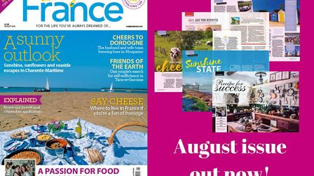 The August issue of Living France is out now